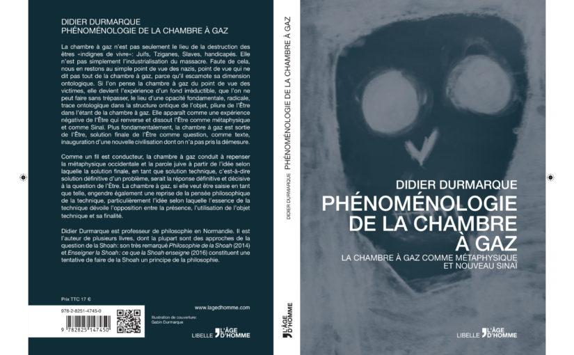 Phénoménologie de la chambre à gaz (précommande)